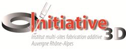 logo I3D métal